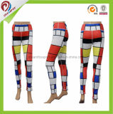 Тяжелое дыхание Legging 2017 изготовленный на заказ гетры гимнастики женщин кальсон йоги плотно