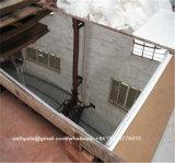 Hoja de acero inoxidable 201 de la bobina y acabado de espejo de 8K con PVC protegiendo