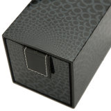 Imballaggio di carta di caso di visualizzazione dei monili, contenitore impaccante della vigilanza di regalo di legno di memoria
