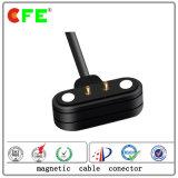 connettore di cavo magnetico maschio 2-Pin per il prodotto portabile