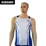Comercio al por mayor Camisetas de gimnasia, en blanco, Gimnasio Mens Stringer camiseta