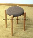 腰掛け(M-X3117)に服を着せる固体カシ木余暇