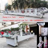 Shenzhen Chenglin PVC Automático pasta caixa de plástico PP PET gluer caixas de plástico de colagem de dobragem