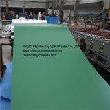 Colorir a chapa de aço revestida Ral9002/9006 usada para a cabine, cortinas do persa, cabana, vagão Refrigerated