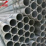 Acero tubular galvanizado tubo galvanizado sumergido caliente de los tubos de acero del hierro para la construcción de edificios del invernadero