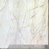 El beige China Foshan materiales de construcción de mármol pulido de suelos de porcelana esmaltada baldosas de pared (600x600mm, VRP6D105)