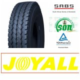 12r20 11r20 Joyall 상표는 전부 광선 강철 트럭 타이어를 둔다