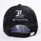 Preiswerte fördernde Stickerei-Baumwolqualität Sports Baseball-auf lagerschutzkappen-Hut