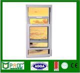 Finestra appesa di disegno della griglia di Pnoc081031ls singola con il certificato standard australiano