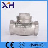 304 Válvula de Retenção horizontal em aço inoxidável DN15