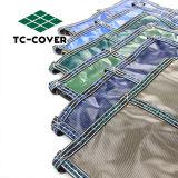 Maillage de haute qualité d'hiver de Couvertures pour piscine piscine en forme de rein
