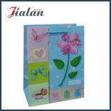 Personnaliser avec 3D & hot stamping fleur Shopping sac de papier cadeau
