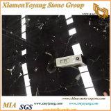 黒い氷の花の大理石の平板(YY-MS197)
