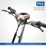 12 E-Bicicleta de la ciudad del despliegue de la pulgada 48V 250W (ADG20-40CE) con Ce