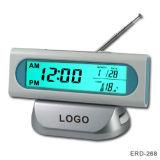 Horloge radio FM contrôlé w/ Calendrier &(Rétroéclairage de l'ERD-268)