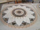 Waterjet van het Patroon van de Steen van de Vloer van de hal het Marmeren Ontwerp van het Medaillon voor Verkoop