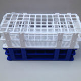 Съемные пластиковые трубы тестирования для установки в стойку подставки для хранения данных лаборатории тестирования