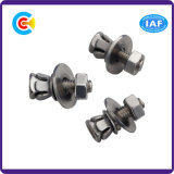 Acciaio al carbonio di DIN/ANSI/BS/JIS/A2-70 viti di combinazione della testa svasate straniero di acciaio inossidabile cinque