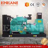 4-Stroke Water-Cooled генератор морского пехотинца 150kw тепловозный с большими колесами