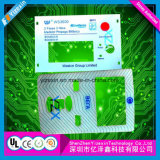 Het overdreven Tastbare Comité van het Toetsenbord van het Membraan met Tastbaar en LCD Venster
