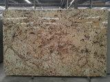 Crema de oro de losas de granito pisos de granito mosaicos&&Albañilería