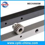 Estantes de engranaje de acero flexibles de estímulo del piñón del fabricante pequeños
