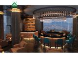 Dubai 7 Star Hotel Sofa Flesh Count Hotel Bar Wood Furniture Sets