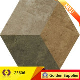 Mattonelle di pavimento di ceramica della parete della cucina rustica della stanza da bagno di colore del cemento (23601)