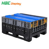 Plastic Stackable Tote Box and Logistic Moving Container