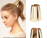 Alliage de cuivre plaqué Hairband de cheveu de mamie de relation étroite d'élastique argenté d'or élégant de cheveu