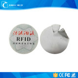 주문 Anti-Theft 처분할 수 있는 탬퍼 증거 RFID NFC 꼬리표