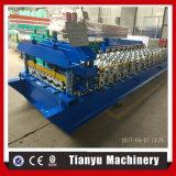 Carreaux émaillés Metcoppo machine à profiler pour la fabrication de tuiles en acier