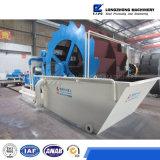 Lzzgの最もよい品質の車輪の砂の洗濯機、砂の洗濯機