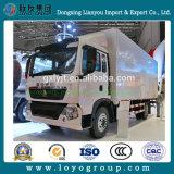 Transporte de logística de HOWO T5g 4*2 Van Cargo Truck