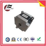 Motor de piso híbrido personalizado de 1.8deg NEMA24 60*60mm para máquinas do CNC