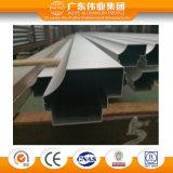 Material de construção de perfis extrudados de alumínio Anodização Natural