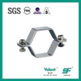 衛生ステンレス鋼の六角形の管のホールダーの管付属品