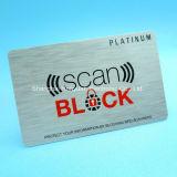 Curso RFID ajustado da proteção do roubo da identidade da segurança da carteira que obstrui o cartão
