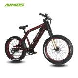 Bici eléctrica verde de la potencia 1000W del precio competitivo con la batería ocultada