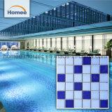 Zwembad van het Mozaïek van de Barst van de Prijs van de Ceramiektegel van het mozaïek het Blauwe Ceramische