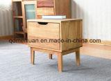 Деревянные кровати из дуба роговой ковчег одним ящиком прикроватный шкафчик(M-X3135