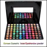 El sombreador de ojos cosmético natural del maquillaje pulveriza a surtidor del pigmento de la perla