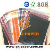 Papier de empaquetage transparent de taille de roulis pour l'emballage de cadeau et de nourriture