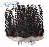 13*4深い波のブラジルの毛のレースのFrontal