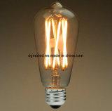 가지가 달린 촛대 LED 전구 E12 기본적인 샹들리에 프레임 필라멘트 빛