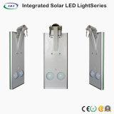 15W double source de lumière LED intégrée Rue lumière solaire avec détecteur de mouvement