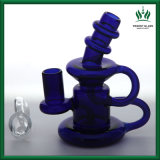 5 van de Blauwe Gordo van de Installatie van de SCHAR Wetenschappelijke van het Glas Klein duim pijp van de Recycleermachine