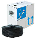 Venta caliente trenzado de 4 pares de cable LAN cable UTP CAT6 Newwork interior utiliza Cable 23 AWG