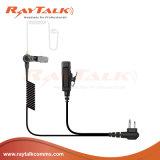 Spleet-draad de Oortelefoon van het Toezicht met Gevlechte Kabel voor Motorola Gp328