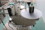 Máquina de etiquetado adhesiva automática llena de la botella redonda de la taza de café de la etiqueta engomada